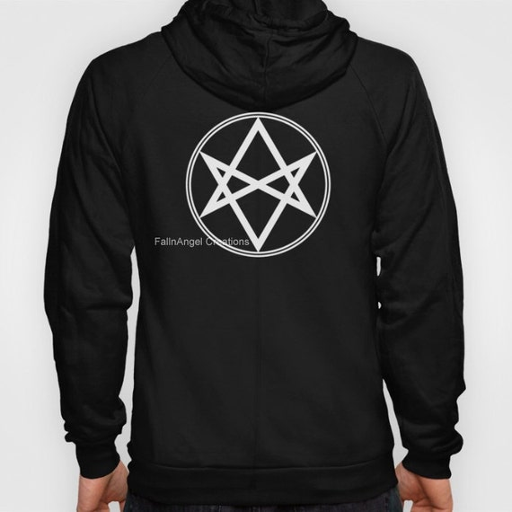 Hoodie Supernatural Men Of Letters Symbol 4 Sizes Available Pull Over Or Zip Up