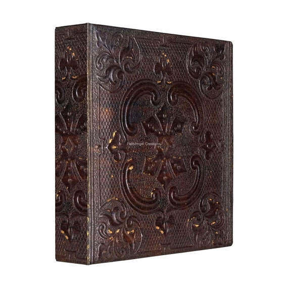 3 Ring Binder Ancient Style Book 4 Sizes Available