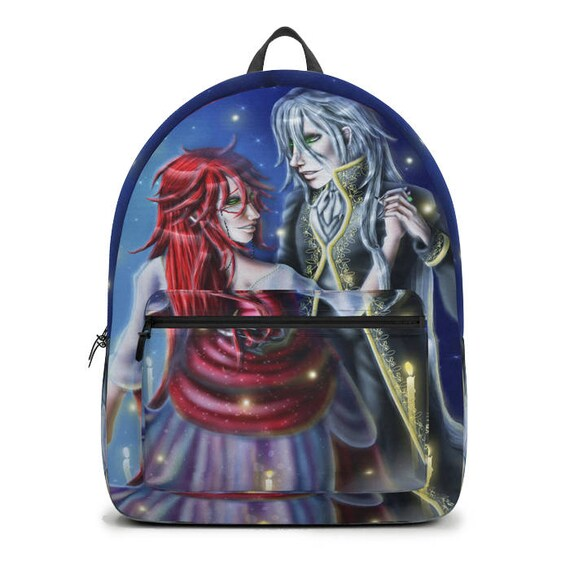 Black Butler Grell Sutcliff Undertaker Backpack Music Of