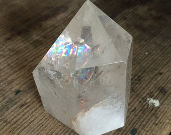 Himalayan Cathedral Quartz Polished Point
