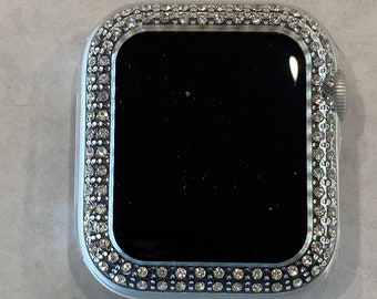 Apple Watch Cover Bezel Clear Case Rhinestone Crystal Series 6 38mm 40mm 42mm 44mm Series 6 SE pv bzl