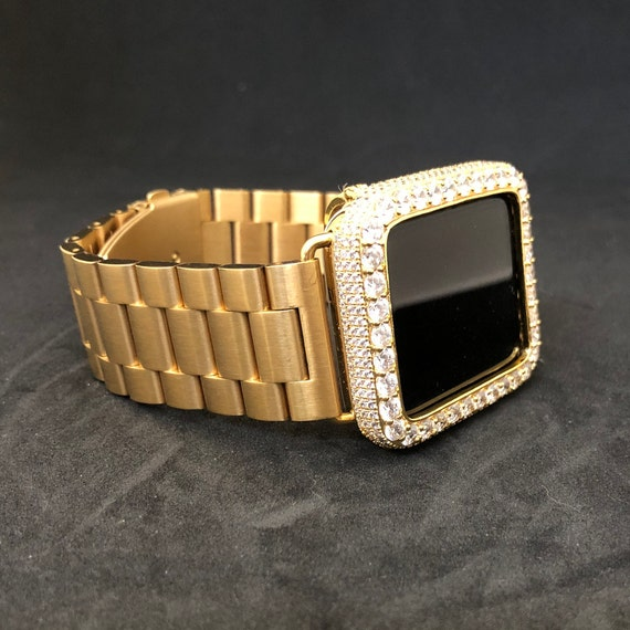 Apple Watch 38MM Iced Out Lab Diamonds