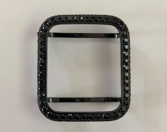 Apple Watch Cover 38mm-44mm Black Lab Diamond Bezel 2.5mm Iwatch Band Bling Series 1,2,3,4,5,6,SE bzl