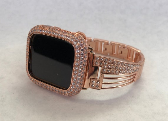 14k gold apple watch band