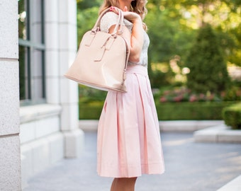 Sugar House Skirt in Light Pink