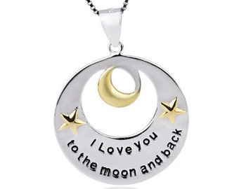 I love you too the moon and back