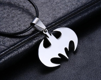 Bat Man Necklace