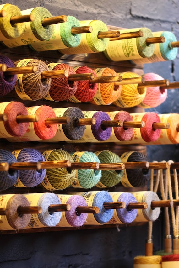 JUTE TWINE SPOOLS : Made from biodegradable materials sourced from sustainable resources.