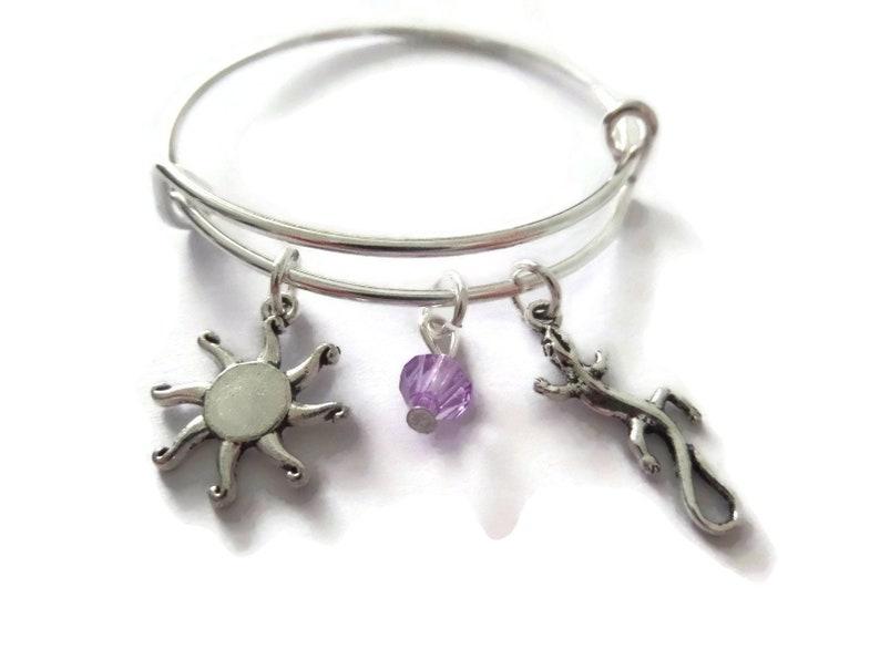 princess favors littlecharmco tangled bracelet princess gift princess party rapunzel party gift Tangled gift tangled gift bangle
