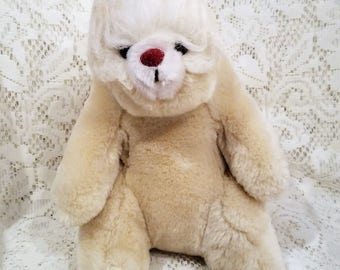 Polar Bear Plush Etsy