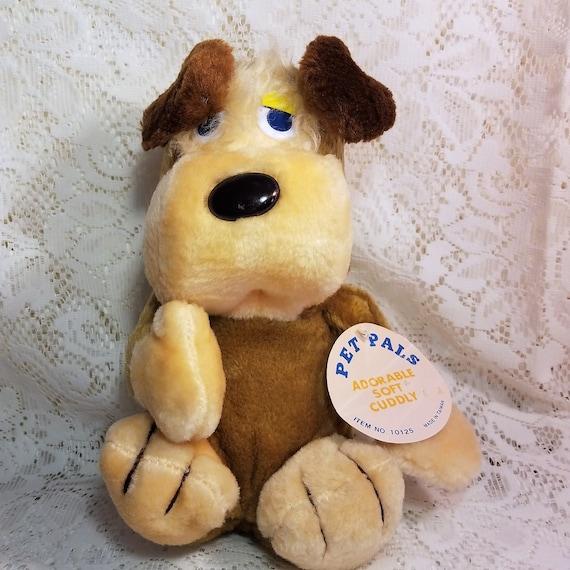 Pet Pals Plush Puppy Dog Stuffed Animal Toy Vintage Taiwan Etsy