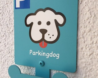 Petparking - Puppy Parking - Dog Leash Holder - Parkingdog - Dog Parking (2 Pcs.)