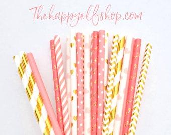 Valentine's Day straws. Valentine's day. Valentine's party decor. lollipop sticks. Valentine's day supplies. heart straws. rose gold straws