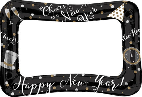 23 New Years Eve Selfiephoto Booth Inflatable Frame Nye Balloons
