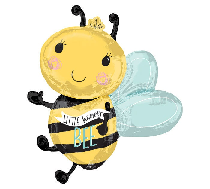 Bee Gender Reveal Balloons Bumble Bee Party Decor Baby Party