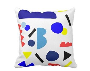 Geometric Pillow, Abstract Pillow, Scandinavian pillow Kids, Nordic, Home Decor, Colorful Nursery pillow Bauhaus Modern Art Cut Outs Matisse