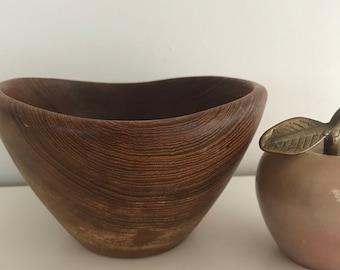 Teakwood bowl, teak bowl, vintage teakwood, teak, vintage wood bowl, wooden bowl, wood bowls