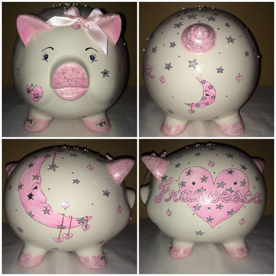 Blinged Out Piggy Bank