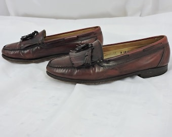 d5cfaee07d6 Vintage G H Bass loafers Mens 10   leather Penny loafers