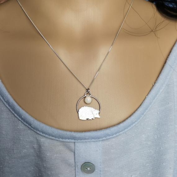 Photo Cabochon Silver Fashion Glass Necklace(keep calm love Armadillos)