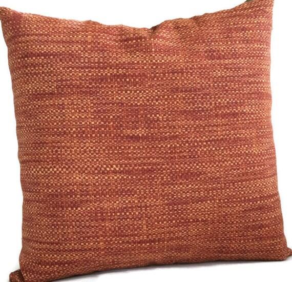 Prime Rust Outdoor Pillow Cover Rust Red Burnt Orange Throw Pillow Cushion Decorative Accent Pillow Patio Chair Pillow 20X20 22X22 24X24 Lumbar Theyellowbook Wood Chair Design Ideas Theyellowbookinfo