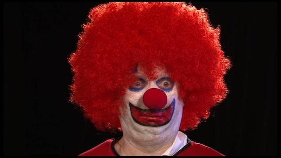 Clown Video Art Projections