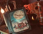 Vintage Halloween Decor Shelf Sitter Halloween Decoupage All Hallows 39 Eve