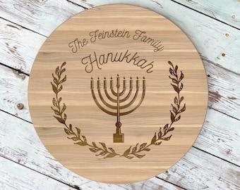 menorah jewish gifts jewish gifts for her happy hanukkah star of david lazy susan hanukkah custom hanukkah hanukkah gifts ls530