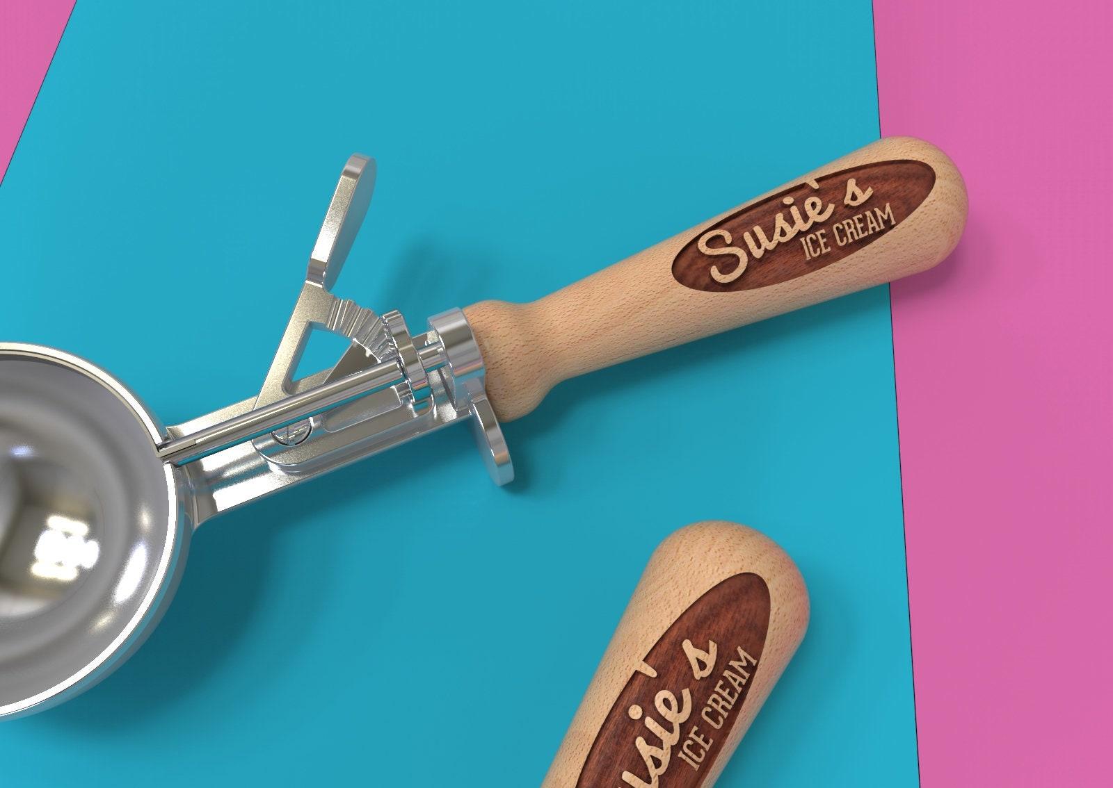 Personalized Ice Cream Scoop Homemade Ice Cream Housewarming