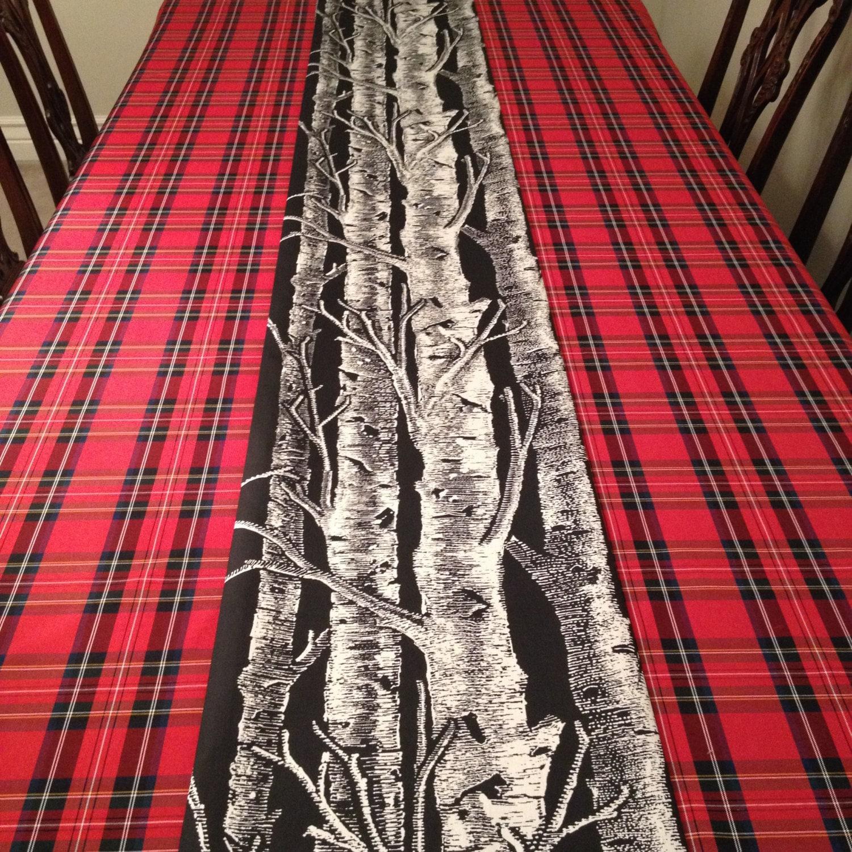 Red Tartan Plaid Tablecloth | Christmas Tablecloth, Christmas Plaid  Tablecloth, Stewart Plaid Tablecloth, Holiday Tablecloth, Seasonal Decor