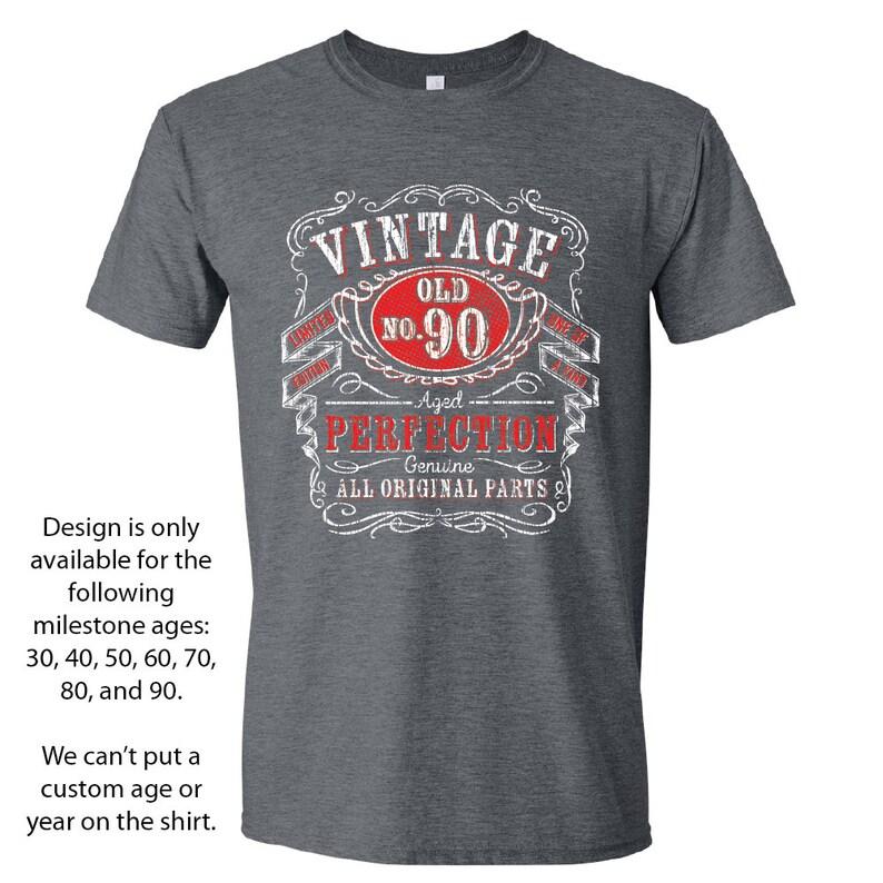90th Birthday Gift Shirts For Him Nintieth