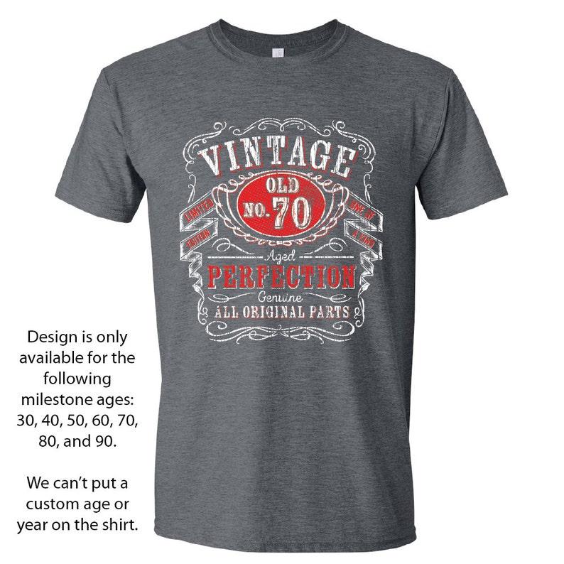 a3ec62a80 70th Birthday Gift 70th Birthday Shirts for Him Seventieth   Etsy
