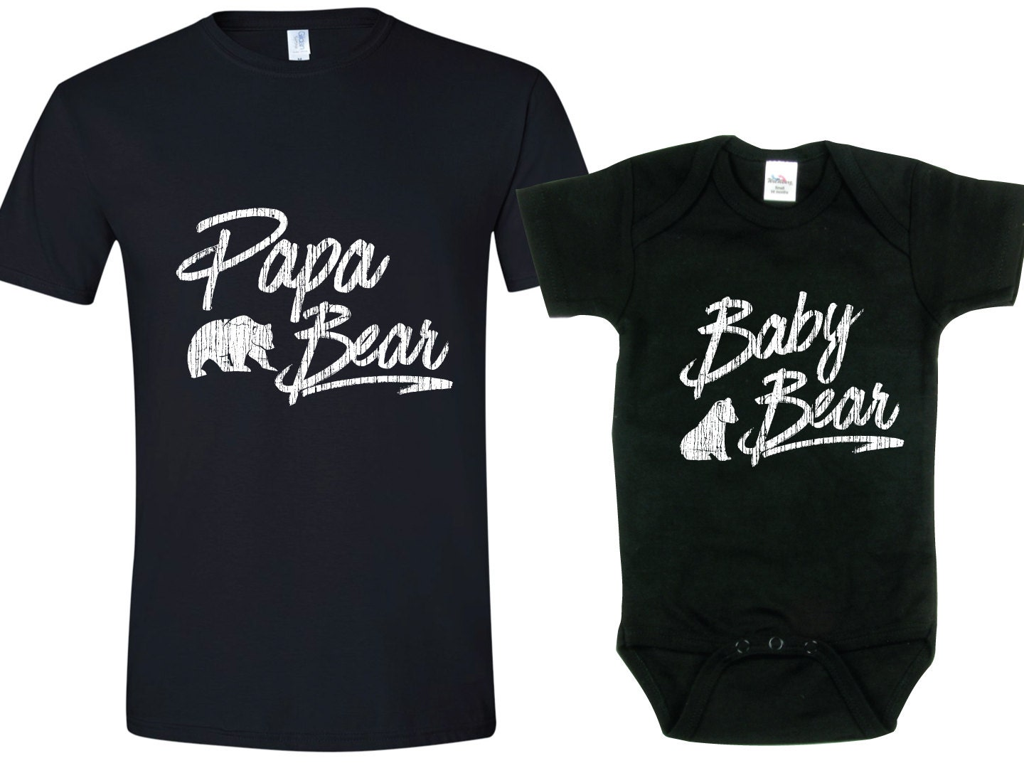 papa ours b b ours assorti t shirt tees p res jour cadeau. Black Bedroom Furniture Sets. Home Design Ideas
