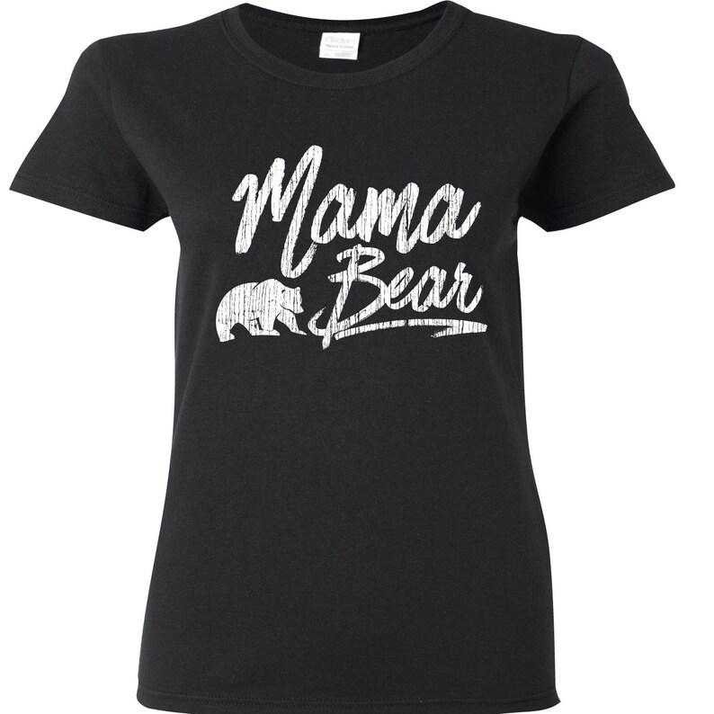 08d7a2f9 Mama Bear Shirt Momma Bear New Mom Gift Baby Bear Mama | Etsy
