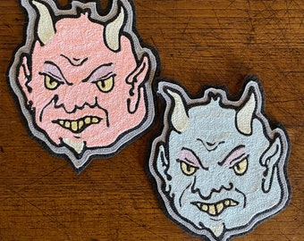 Devil Chain stitch Patch
