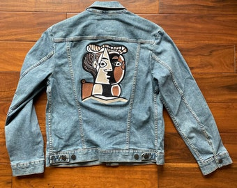 Wrangler denim jacket with embroidery