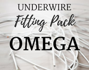 Omega Underwire Fitting Pack! Three Pair of Underwire to Find your Perfect Fit!