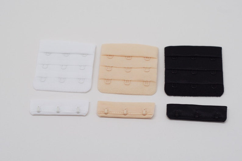 3X3 Hook /& Eyes for Bra Making Closure for the Back of Bras Perfect for Bra Making!