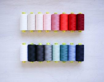 Gütermann Mara 120 Industry Quality Thread | 100% Polyester | 1000 meters