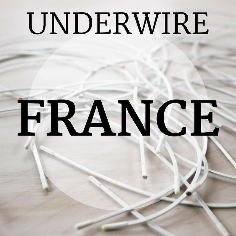 France Bra-Underwire Sizes 30-50 image 0