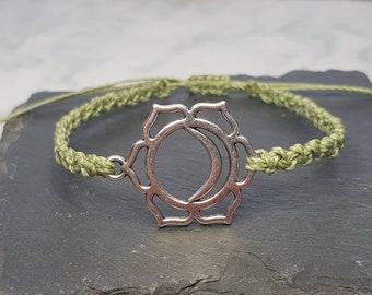 Sacral Chakra Charm Bracelet ~ Svadhishthana Chakra ~ Nirmana ~ meditation bracelet ~ Linhasita Bracelet ~ Chakra Bracelet