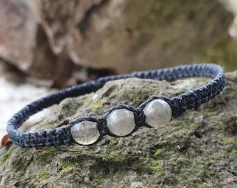 Labradorite beaded Bracelet | transformatiom ~ perseverance ~ banishes insecurities ~ calming ~ treats gout and rheumatism