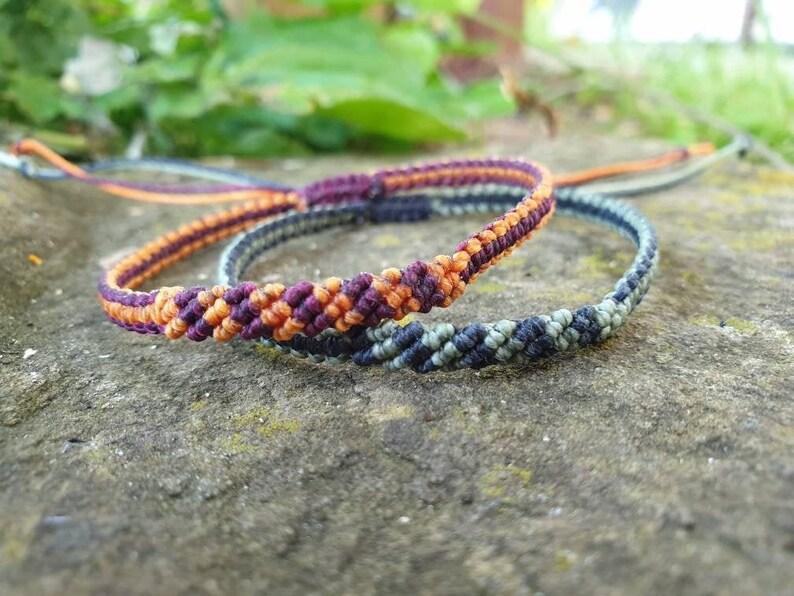 candy stripe bracelet minimalist jewelry best friend image 0