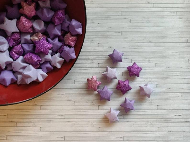 69 mini origami stars  origami stars  lucky stars  mini image 0