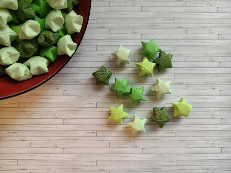 86 mini origami stars  origami stars  lucky stars  mini image 0