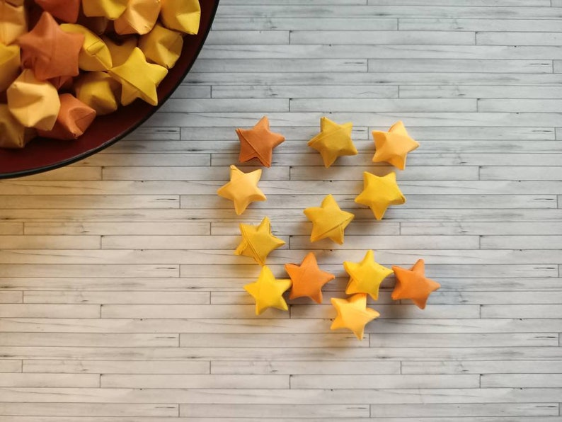 95 mini origami stars  origami stars  lucky stars  mini image 0