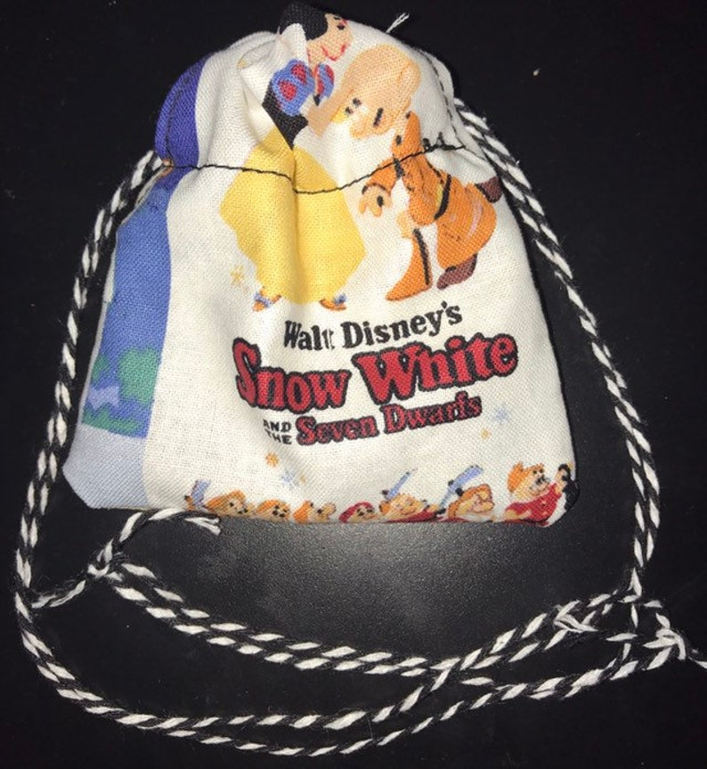 small Disney D/&D Dungeons and Dragons Game Dice Bag handmade