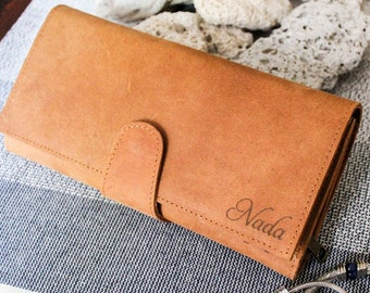 665be16bcb Personalized Leather Wallet
