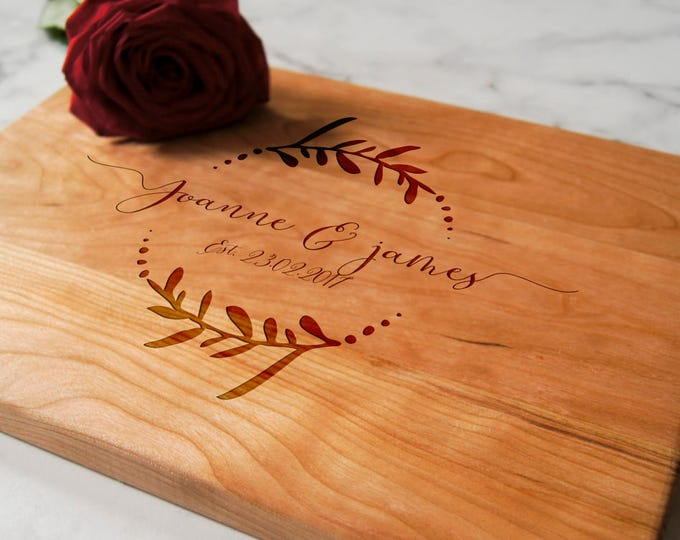 Personalized Cutting Board, Engraved cutting board, housewarming gifts, wedding gift, Christmas gift