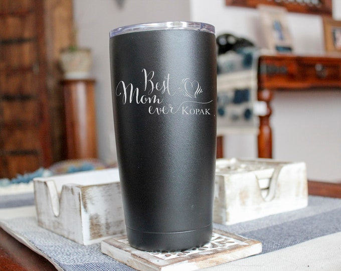 Polar Camel 20 oz. Stainless Steel Vacuum Insulated Tumbler; Personalized gift for birthday, graduation, anniversary.